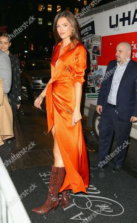 Editorial image of L'Avenue at Saks first anniversary celebration, New York Fashion Week - 04 Feb 2020