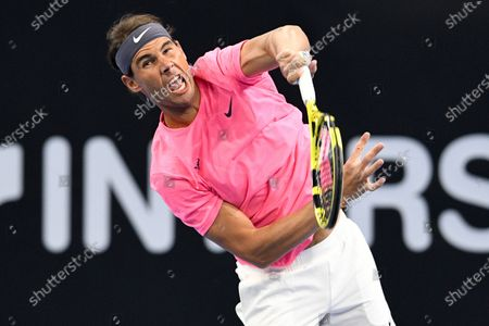 Editorial photo of Rafa Nadal Academy opening in Kuwait, Kuwait City - 05 Feb 2020