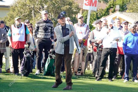 Clint Eastwood tees off at the 3M Celebrity Challenge