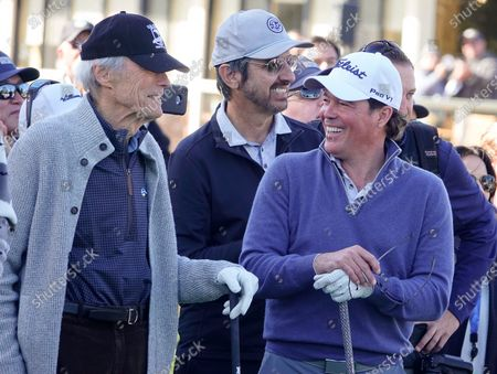 Clint Eastwood, Ray Romano and Clay Walker at the 3M Celebrity Challenge