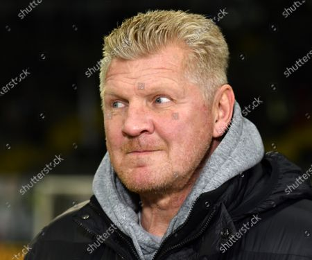 Stock Picture of Stefan Effenberg  beim DFB-Pokal Spiel  Eintracht Frankfurt gegen RB Leipzig  am 04.02.2020  in Frankfurt DFL regulations prohibit any use of photographs as image sequences and / or quasi-video.