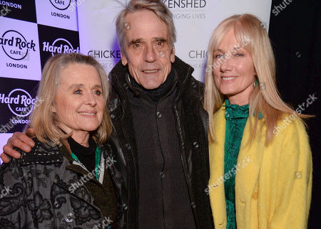 Sinead Cusack, Jeremy Irons and Joely Richardson