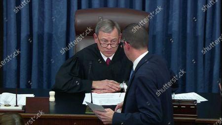 Editorial photo of President Trump impeachment trial, Washington DC, USA - 05 Feb 2020