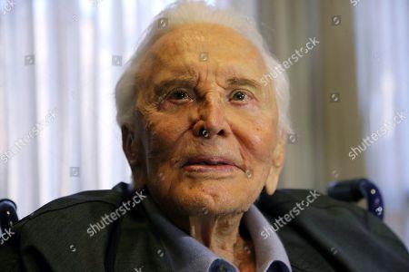 Kirk Douglas, Anne Douglas. Actor Kirk Douglas in Los Angeles. Douglas died at age 103
