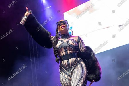 Editorial picture of Ashanti in concert at the 02 Academy, Leeds, UK - 05 Feb 2020