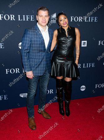 Tom Murro and Alicia Quarles