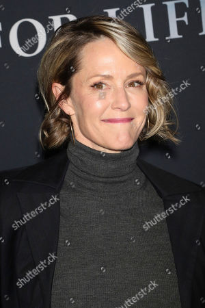 """Mary Stuart Masterson attends the premiere of ABC's """"For Life"""" at Alice Tully Hall, in New York"""