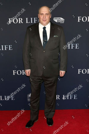 "Stock Image of Glenn Fleshler attends the premiere of ABC's ""For Life"" at Alice Tully Hall, in New York"