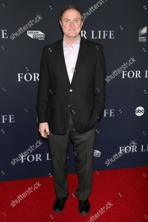 """Boris McGiver attends the premiere of ABC's """"For Life"""" at Alice Tully Hall, in New York"""