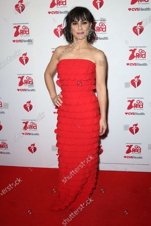 Editorial image of The American Heart Association's Go Red for Women annual Red Dress Collection, New York, USA - 05 Feb 2020