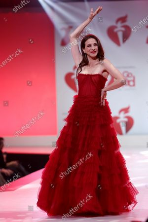 Editorial photo of The American Heart Association's Go Red for Women annual Red Dress Collection, New York, USA - 05 Feb 2020