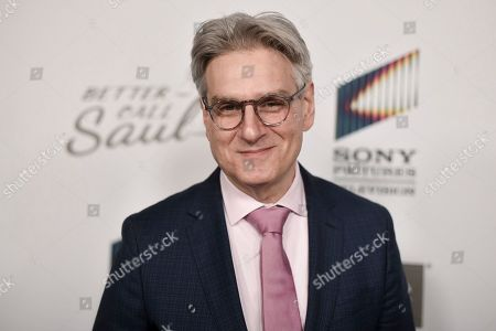 """Peter Gould attends the LA premiere of """"Better Call Saul"""" season 5 at ArcLight Hollywood, in Los Angeles"""