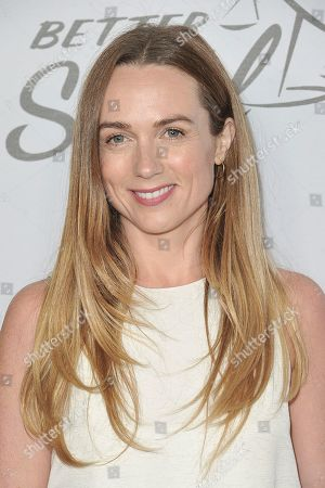 """Kerry Condon attends the LA premiere of """"Better Call Saul"""" season 5 at ArcLight Hollywood, in Los Angeles"""
