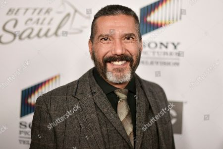 """Steven Michael Quezada attends the LA premiere of """"Better Call Saul,"""" Season 5 at ArcLight Hollywood, in Los Angeles"""