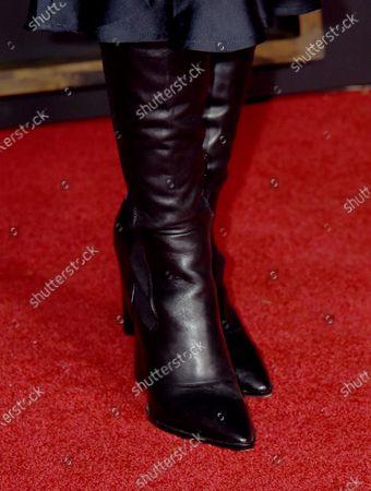 Stock Image of Nadia Gray, shoe detail