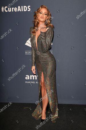 Editorial photo of 22nd Annual amfAR Gala New York - Arrivals, USA - 05 Feb 2020