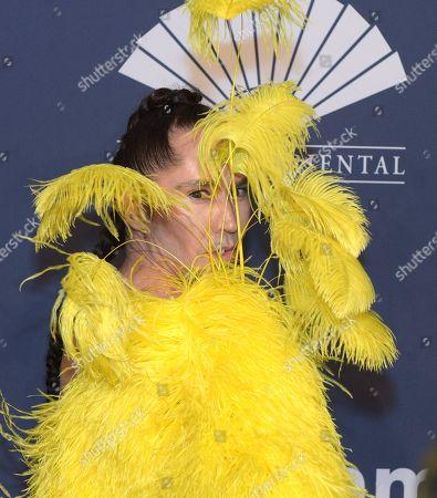 Editorial photo of amfAR Gala, Arrivals, Fall Winter 2020, New York Fashion Week, USA - 05 Feb 2020