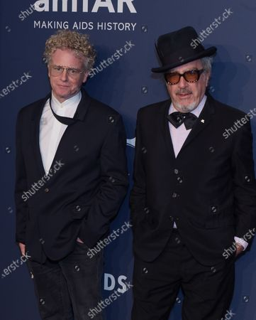 Stock Picture of Chris Levine and Elvis Costello