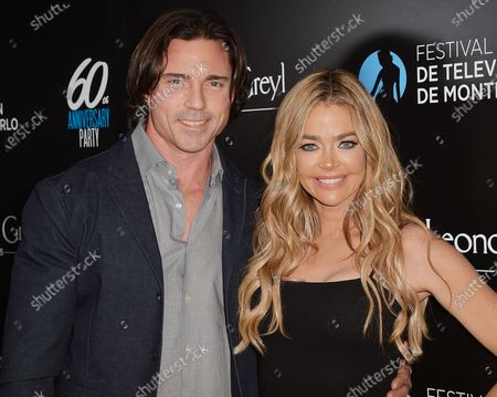 Stock Picture of Aaron Phypers and Denise Richards