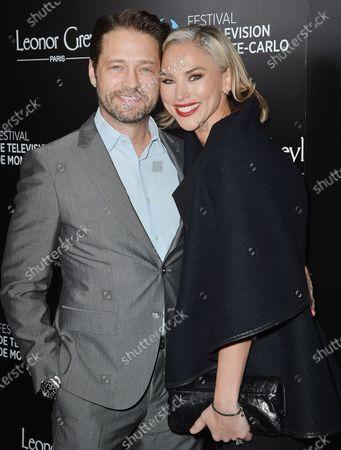 Jason Priestley and Naomi Lowde-Priestley