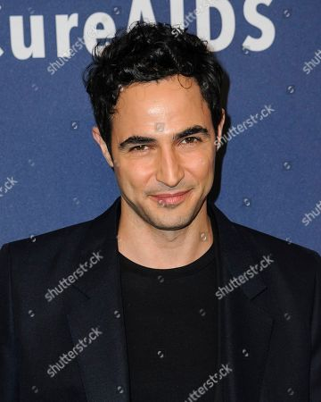 Zac Posen attends the amfAR Gala New York AIDS research benefit at Cipriani Wall Street, in New York