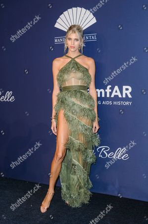 Stock Image of Devon Windsor attends the amfAR Gala New York AIDS research benefit at Cipriani Wall Street, in New York