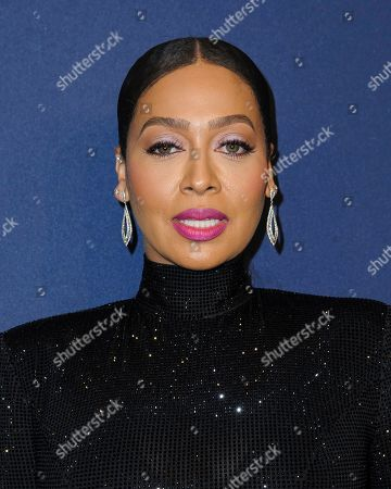 Stock Photo of Lala Anthony attends the amfAR Gala New York AIDS research benefit at Cipriani Wall Street, in New York