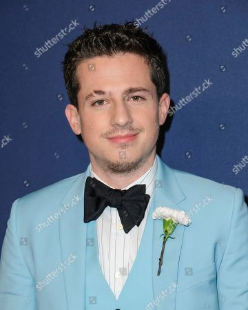 Charlie Puth attends the amfAR Gala New York AIDS research benefit at Cipriani Wall Street, in New York