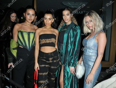Editorial photo of The A Jewellers new line launch party, MNKY HSE, London, UK - 05 Feb 2020