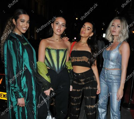 Four of Diamonds - Caroline Alvares, Lauren Rammell, Sophia Saffarian and Yasmin Broom