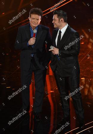 Tiziano Ferro and Massimo Ranieri