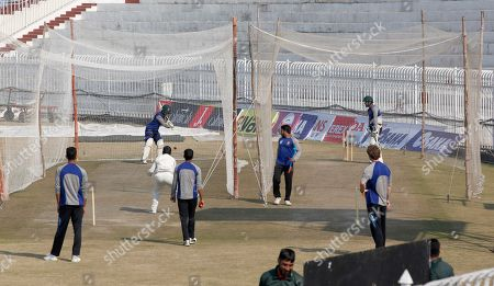 Mahmudullah. Bangladesh cricket players attend a training session for the first test match against the Pakistan at the Pindi Cricket Stadium, in Rawalpindi, Pakistan, . Pakistan and Bangladesh will play their 1st test cricket match on Feb. 7
