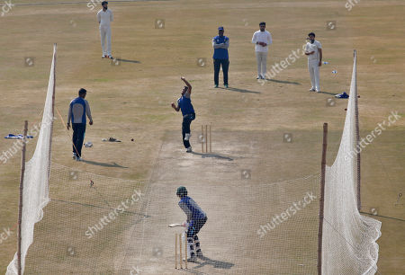 Mahmudullah. Bangladesh cricket players attend a training session for first test match against Pakistan at the Pindi Cricket Stadium, in Rawalpindi, Pakistan, . Pakistan and Bangladesh will play their first test cricket match on Feb. 7