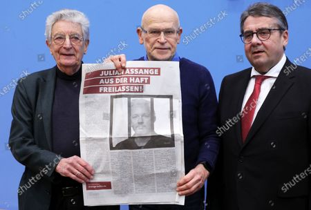 Editorial picture of Appeal for the release of Julian Assange, Berlin, Germany - 06 Feb 2020