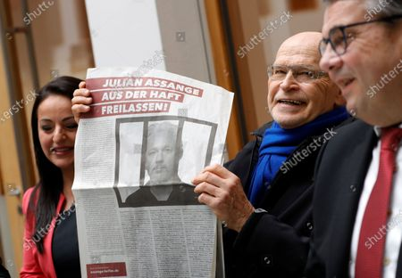 Editorial image of Appeal for the release of Julian Assange, Berlin, Germany - 06 Feb 2020