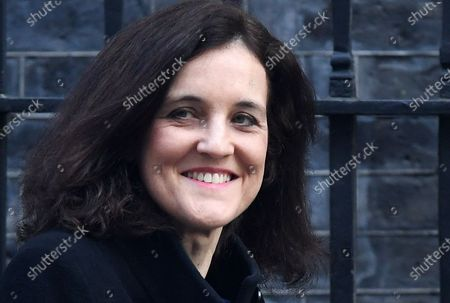 British Secretary of State for Environment, Food and Rural Affairs Theresa Villiers departs a cabinet meeting at 10 Downing Street in London, Britain, 06 February 2020. British Prime Minister Boris Johnson is expected to reshuffle his cabinet next week.