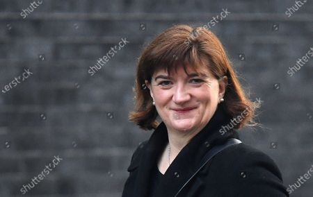 British Secretary of State for Digital, Culture, Media and Sport Baroness Nicky Morgan arrives for a cabinet meeting at 10 Downing Street in London, Britain, 06 February 2020. British Prime Minister Boris Johnson is expected to reshuffle his cabinet next week.
