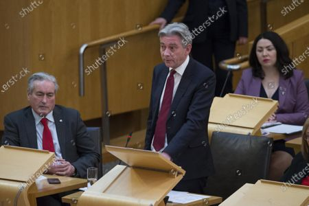 Editorial image of Scottish Parliament First Minister's Questions, The Scottish Parliament, Edinburgh, Scotland, UK - 6 Feb 2020