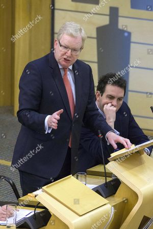 Scottish Parliament First Minister's Questions - Maurice Golden and Jackson Carlaw, Interim Leader of the Scottish Conservative and Unionist Party.