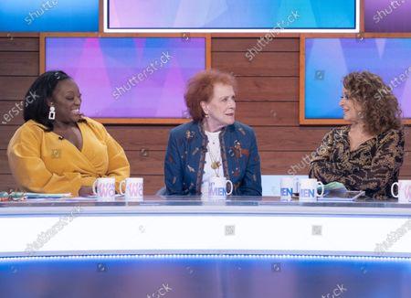 Judi Love, Judy Parfitt, Nadia Sawalha