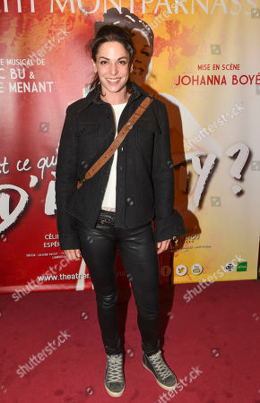 Editorial picture of 'Est ce que j ai une gueule d'Arletty' musical premiere, Paris, France - 05 Feb 2020