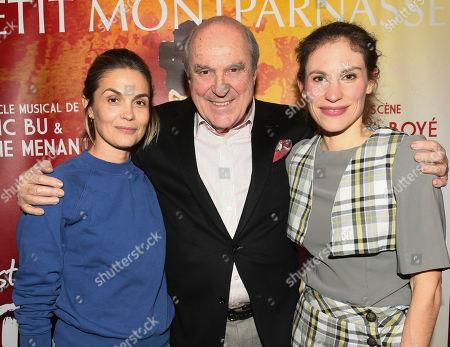 Barbara Schulz, Jean Claude Houdiniere and Elodie Menant