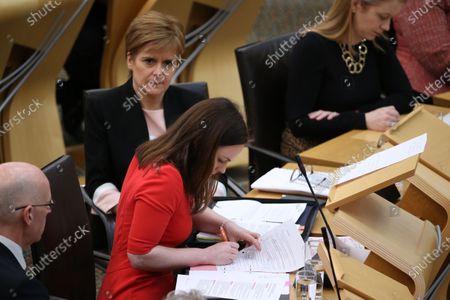 Editorial image of Scottish Budget 2020-21, The Scottish Parliament, Edinburgh, Scotland, UK - 6 Feb 2020