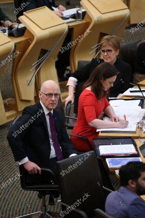 Editorial picture of Scottish Budget 2020-21, The Scottish Parliament, Edinburgh, Scotland, UK - 6 Feb 2020