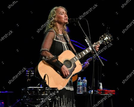 Editorial photo of Joan Osborne in concert at the Crest Theatre at Old School Square, Delray Beach, Florida, USA - 05 Feb 2020