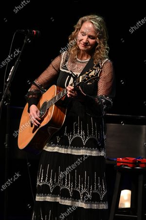Editorial picture of Joan Osborne in concert at the Crest Theatre at Old School Square, Delray Beach, Florida, USA - 05 Feb 2020