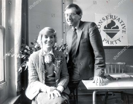 Editorial picture of Peter Bottomley & Virginia Bottomley Today's Pictures Of Peter Bottomley And His Wife Birginia As She Announces She Will Become The Prospective Tory Candidate In The Election Caused By The Death Of Maurice Macmillan....mp Peter Bottomley Virginia Bo