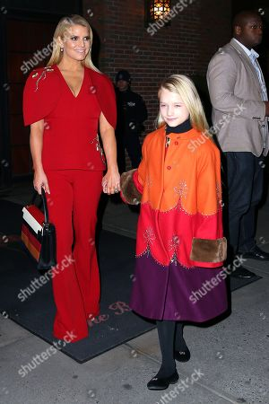 Editorial picture of Jessica Simpson and family out and about, New York, USA - 05 Feb 2020