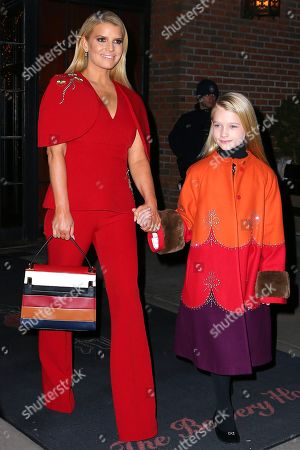 Stock Picture of Jessica Simpson and Maxwell Drew Johnson