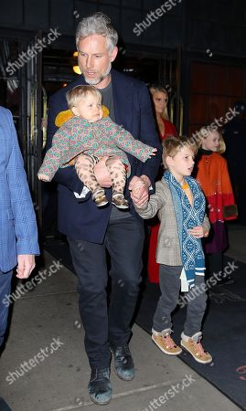 Editorial image of Jessica Simpson and family out and about, New York, USA - 05 Feb 2020
